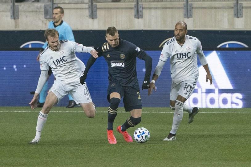 Kacper Przybyłko w barwach Philadelphia Union /ZUMA /Newspix