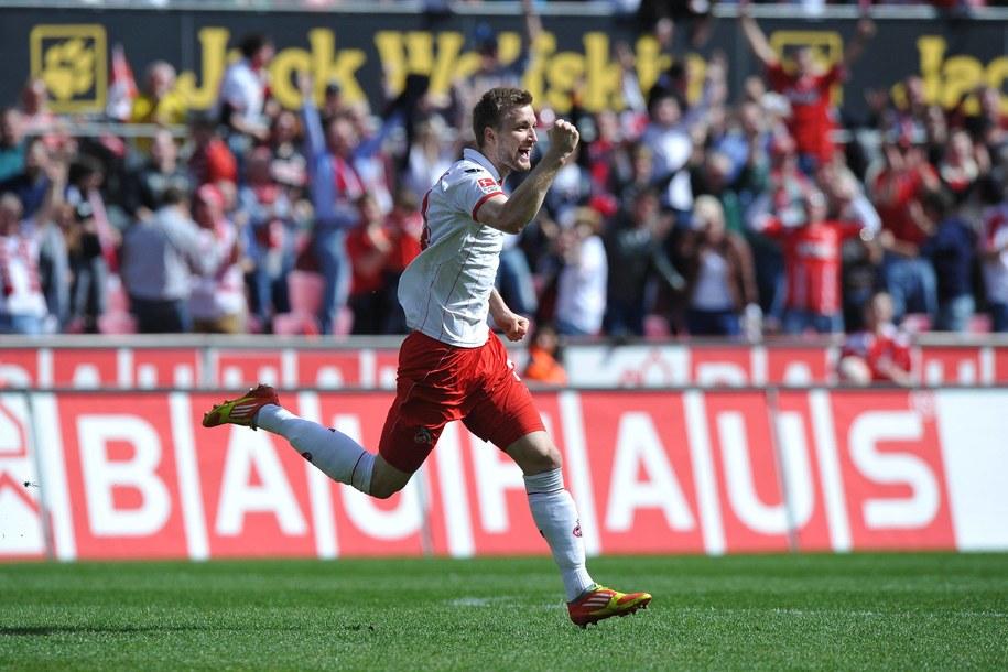 Kacper Przybyłko z FC Kaiserslautern /Revierfoto    /PAP/EPA