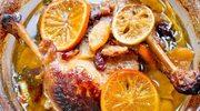 Kacze udka w pomarańczowym sosie