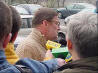 Kaczmarek przed prokuraturą /RMF