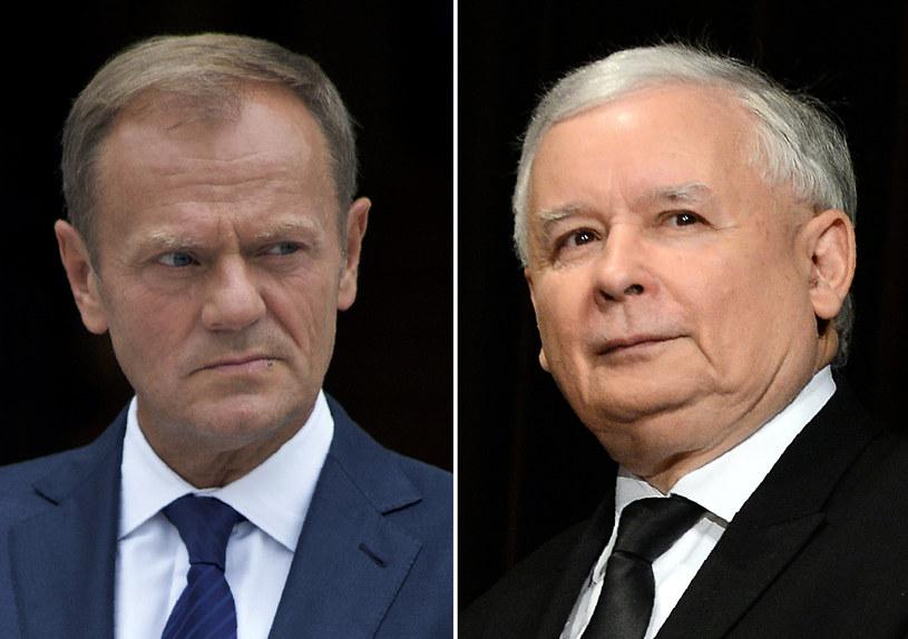 """""""Kaczyński był najlepszym pomocnikiem wyborczym, jakiego Tusk mógł sobie wymarzyć"""" /Janek SKARZYNSKI, Paulo NUNES DOS SANTOS /AFP"""