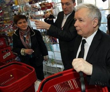 """Kaczyński na zakupach: """"To niebywałe!"""""""
