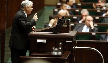 Kaczyński w Sejmie: Rząd jest zły i niesprawny. Chmura nadużyć i podejrzeń