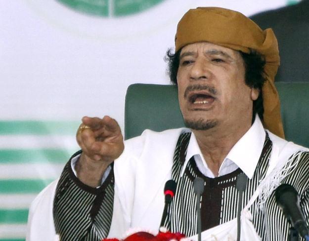 """""""Kadafi to zabójca kapryśny..."""" /AFP"""