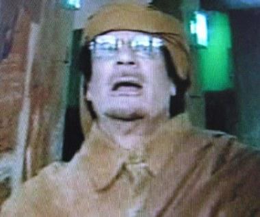 Kadafi: Umrę jak męczennik