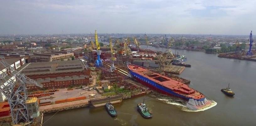 Kadłub powstał w stoczni w Sankt Petersburgu /materiały prasowe