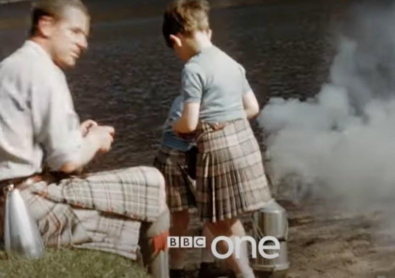 """Kadr w filmu BBC """"Książę Filip. Rodzina królewska pamięta"""" /"""