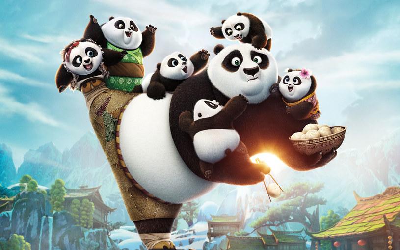 """Kadr z animacji """"Kung Fu Panda 3"""" /materiały prasowe"""