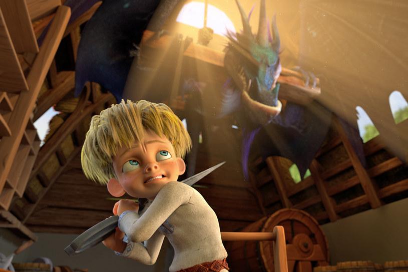 """Kadr z animacji """"Ostatni smok świata"""" /materiały prasowe"""