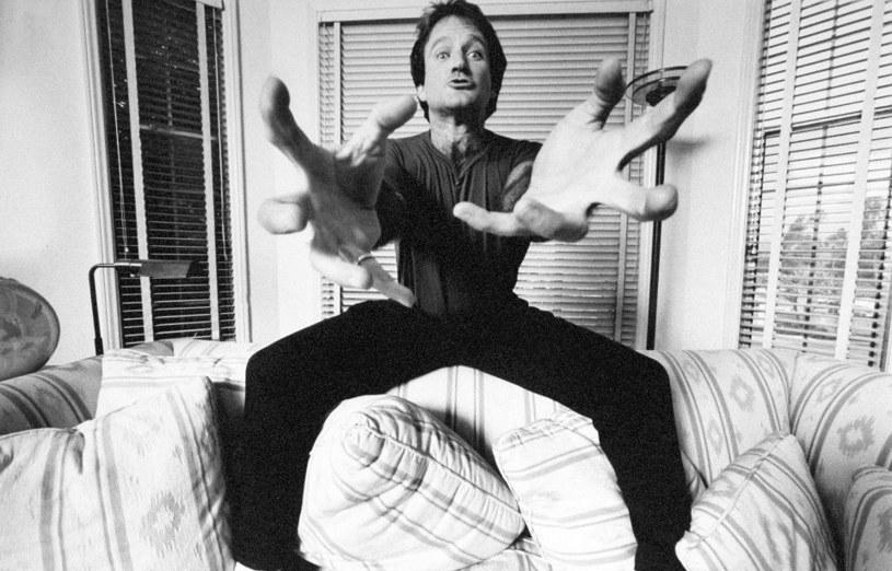 """Kadr z dokumentu HBO """"Robin Williams: W mojej głowie"""" /materiały prasowe"""