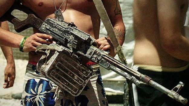 """Kadr z filmu """"Armadillo. Wojna jest w nas"""" /materiały dystrybutora"""