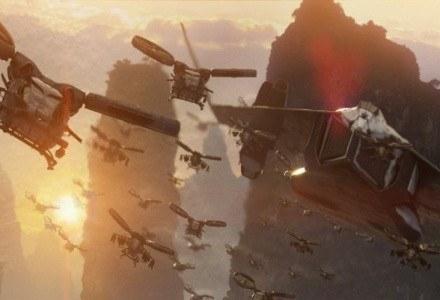 """Kadr z filmu """"Avatar"""" Jamesa Camerona. Ta produkcja była od początku tworzona z myślą o formacie 3D /materiały prasowe"""