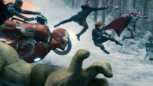 "Kadr z filmu ""Avengers: Czas Ultrona"" /materiały dystrybutora"