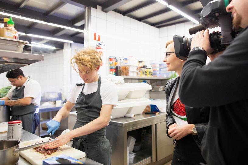 """Kadr z filmu """"Chef Flynn - najmłodszy kucharz świata"""" /materiały dystrybutora"""