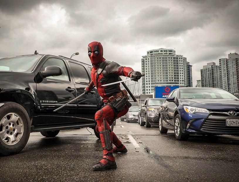 "Kadr z filmu ""Deadpool"" /FaceToFace/REPORTER/Moviestore Collection/ /East News"