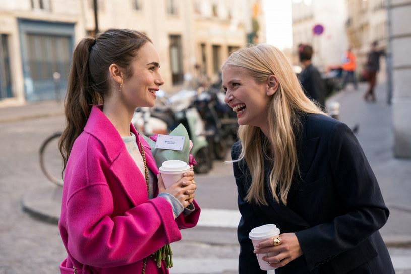 "Kadr z filmu ""Emily w Paryżu"", fot. Netflix/Courtesy Everett Collection /East News"