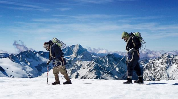 "Kadr z filmu ""Everest - poza krańcem świata"" /materiały dystrybutora"