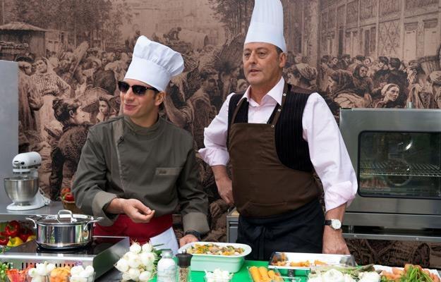 "Kadr z filmu ""Faceci od kuchni"" /materiały dystrybutora"