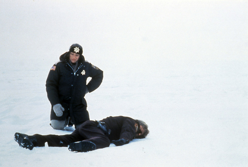 """Kadr z filmu """"Fargo"""". Na zdjęciu: Frances McDormand. /AKPA"""