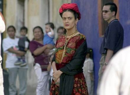 "Kadr z filmu ""Frida"" z Slamą Hayek. /Getty Images/Flash Press Media"