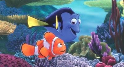 """Kadr z filmu """"Gdzie jest Nemo"""" /"""