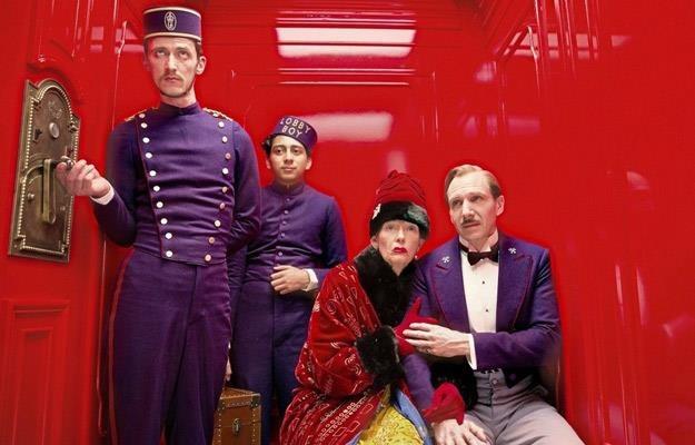 "Kadr z filmu ""Grand Budapest Hotel"" /materiały prasowe"