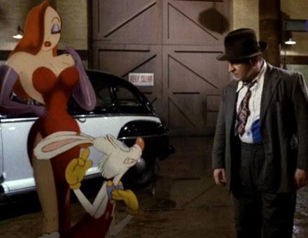"""Kadr z filmu """"Kto wrobił królika Rogera?'' /"""
