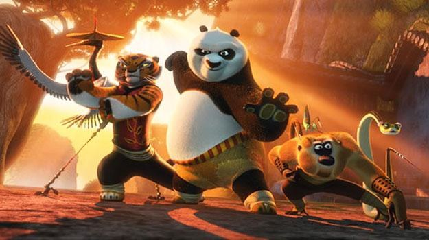 "kadr z filmu ""Kung Fu Panda 2"" /materiały dystrybutora"