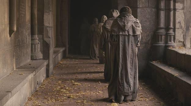 """Kadr z filmu """"Latający mnich i tajemnica da Vinci"""" /materiały dystrybutora"""