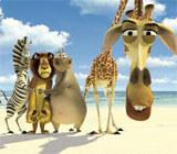 """Kadr z filmu """"Madagaskar"""" /"""