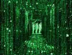 "Kadr z filmu ""Matrix"" /"
