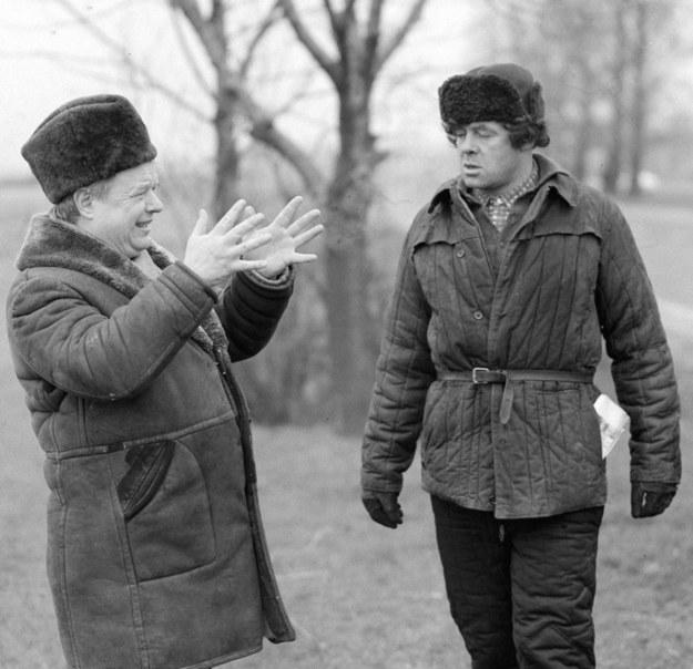 """Kadr z filmu """"Miś"""" /Witold Rozmysłowicz   /PAP"""