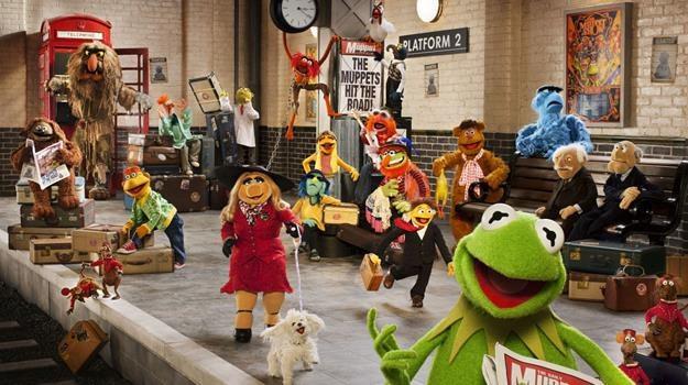"Kadr z filmu ""Muppety: Poza prawem"" /materiały dystrybutora"