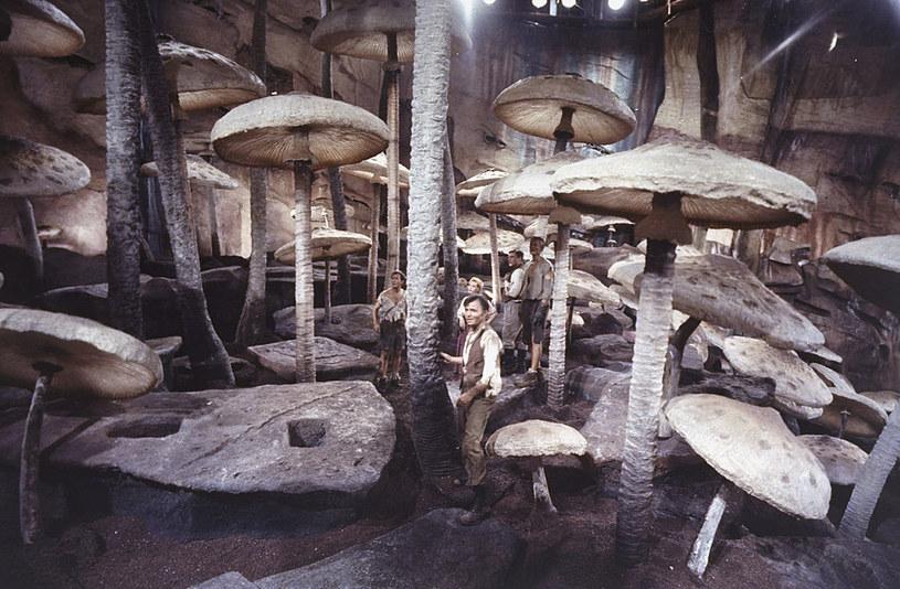 """Kadr z filmu """"Podróż do wnętrza Ziemi"""" na podstawie powieści Juliusza Verne'a /Getty Images"""