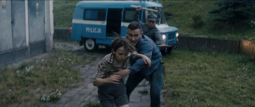"""Kadr z filmu """"Rykoszet"""", reż. Jakub Radej /materiały prasowe"""