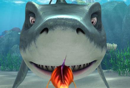 """Kadr z filmu """"Sposób na rekina"""" /"""