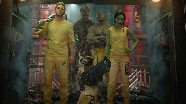 """Kadr z filmu """"Strażnicy Galaktyki"""" /materiały dystrybutora"""