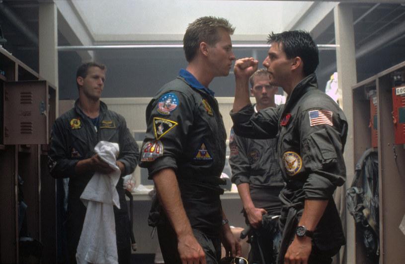 "Kadr z filmu ""Top Gun"" /Getty Images"