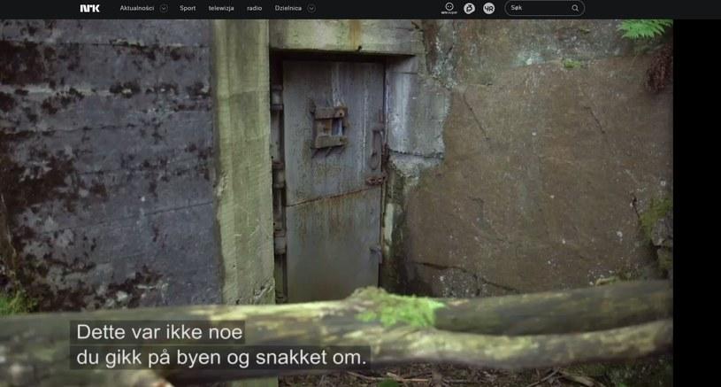 Kadr z filmu wyemitowanego przez norweską NRK /nrk.no /