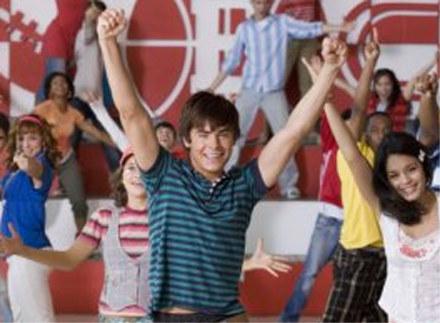 """Kadr z """"High School Musical 2"""" /"""