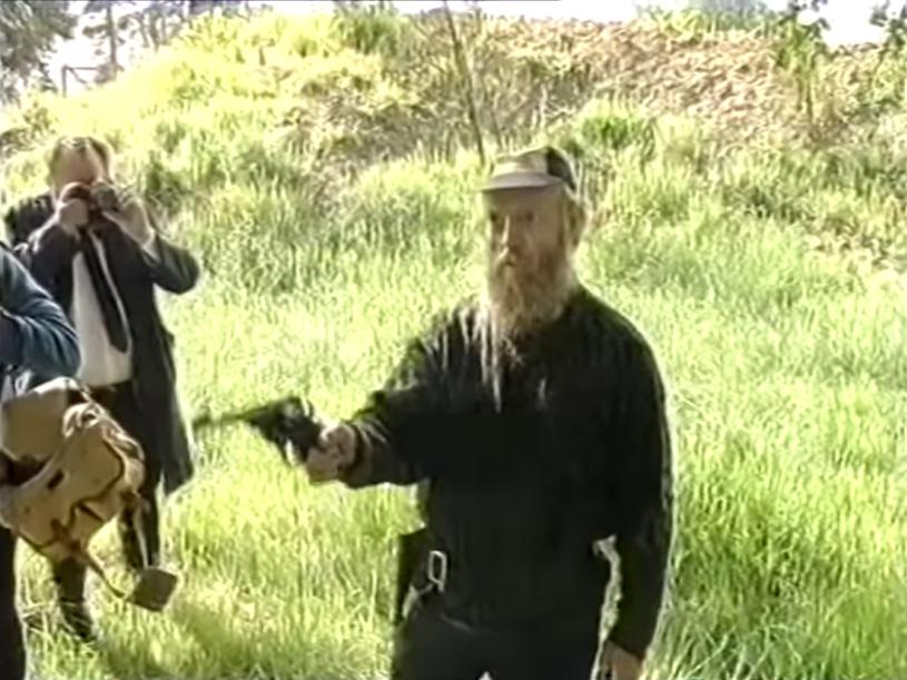 Kadr z materiału wideo, na którym zarejestrowano tragiczne wydarzenia /YouTube