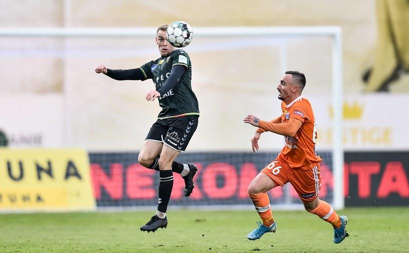 Kadr z meczu Bruk-Bet Termalica Nieciecza - GKS Tychy /Lukasz Sobala / Press Focus /Newspix