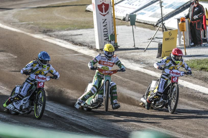 Kadr z meczu Falubaz Zielona Góra - Włókniarz Częstochowa /East News /East News