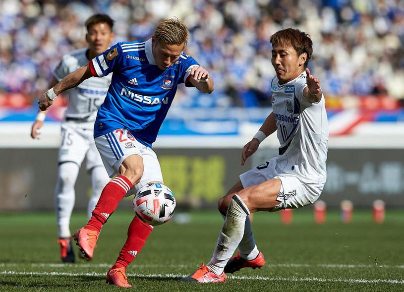 Kadr z meczu ligi japońskiej /Getty Images