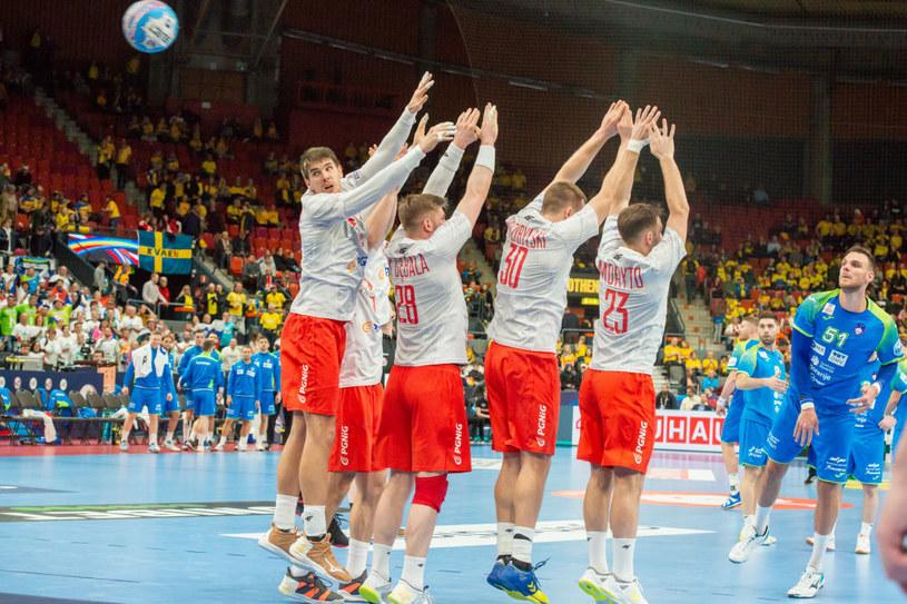 Kadr z meczu Słowenia - Polska /Getty Images