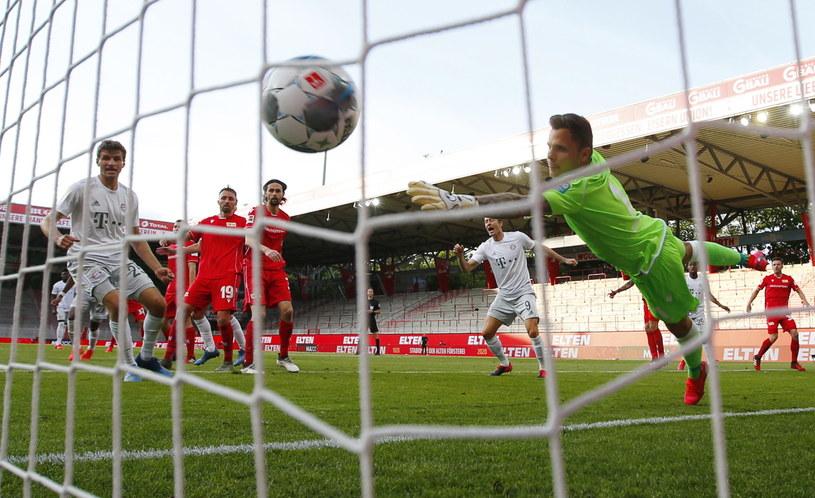 Kadr z meczu Union Berlin - Bayern Monachium /PAP/EPA