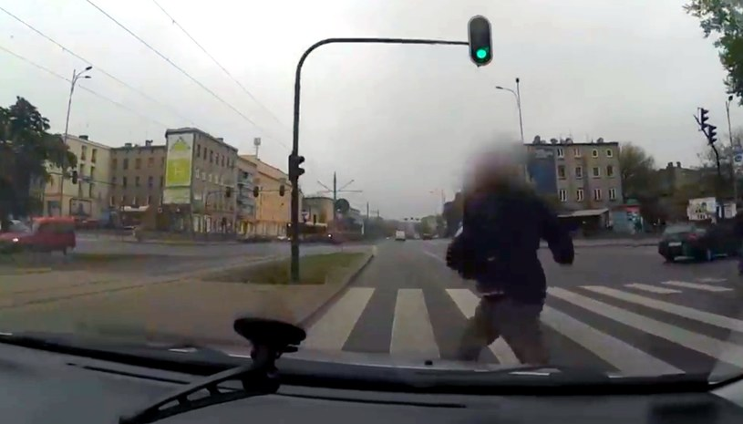 Kadr z nagrania kierowcy /