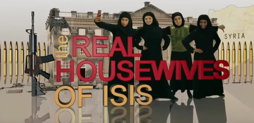 """Kadr z odcinka """"Real Housewives of ISIS"""" /YouTube"""