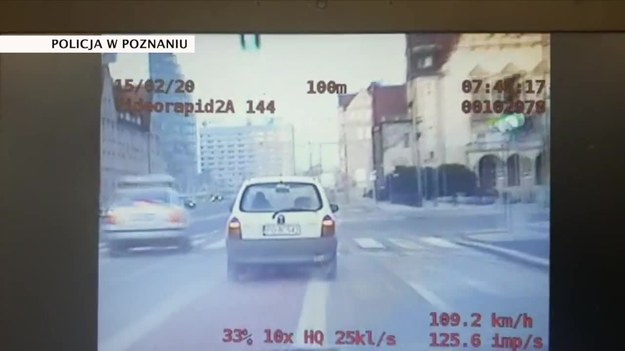 Kadr z policyjnego nagrania /TVN24/x-news