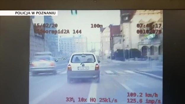 Kadr z policyjnego pościgu za 29-latkiem /TVN24/x-news